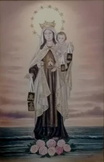 Presentación de los Carteles del  Carmen de Colonia Santa Inés y de Junta de los Caminos