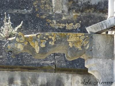Gárgola de la Iglesia de Saint-Martin de Limoux (Francia)