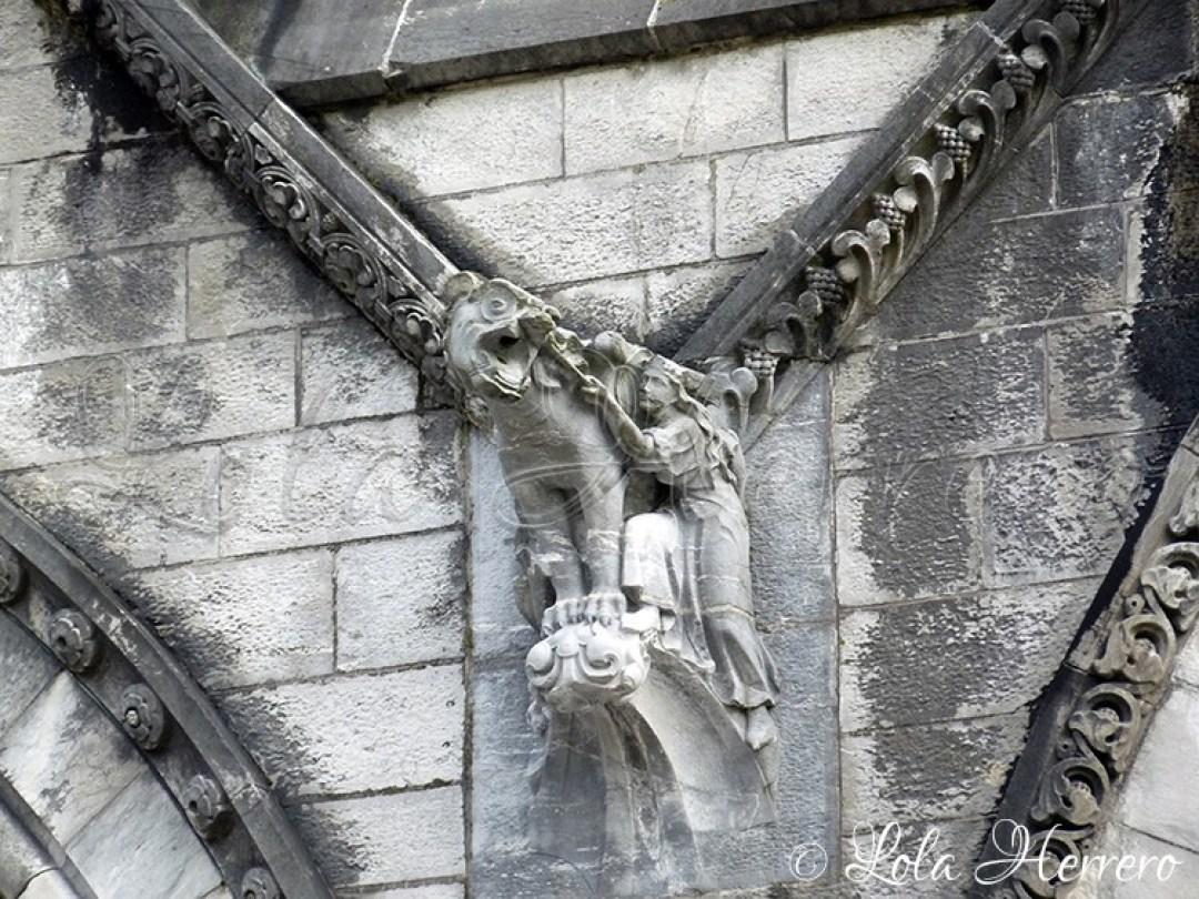 Gárgola Catedral Cork (Irlanda) 158