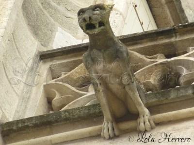 Gárgola de la Catedral de Burdeos (Francia)