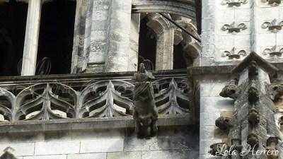 Gárgola de la Catedral de Bayonne (Francia)