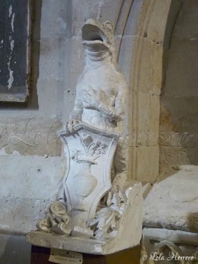 Gárgola de la Catedral de Salamanca-Museo Claustro