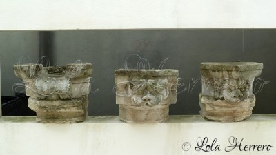Gárgolas del Espaço Museu. Parroquia da Gloria Aveiro (Portugal)