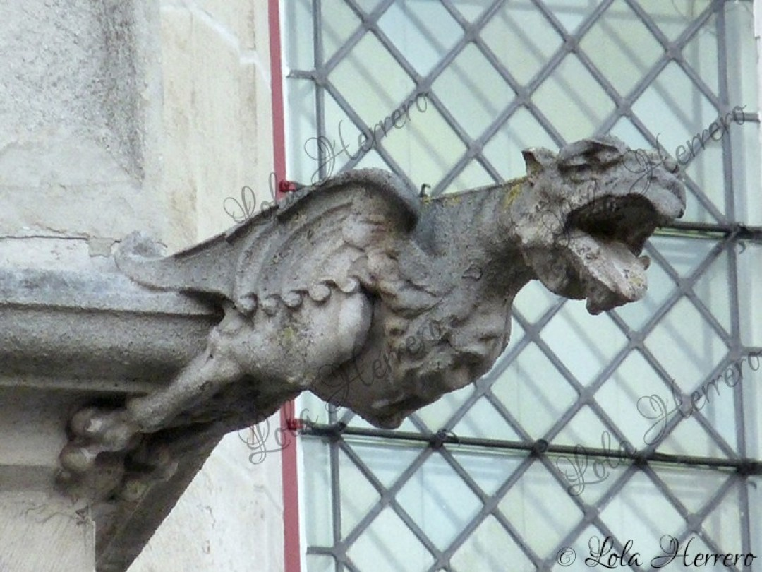 Gárgola Antigua Aduana Brujas (Bélgica) (385)