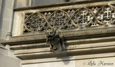 Gárgola de la Catedral de Berna (Suiza)