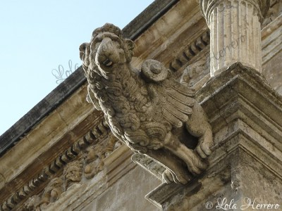 Gárgola de la Catedral de León