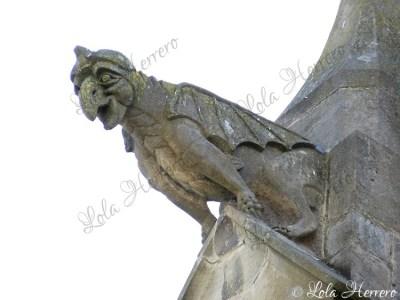 Gárgola de la Catedral de Mirepoix (Francia)