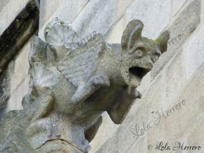 Gárgola de la Catedral de St. Étienne Limoges (Francia)