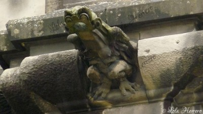 Gárgola de la Catedral de Vitoria-Gasteiz