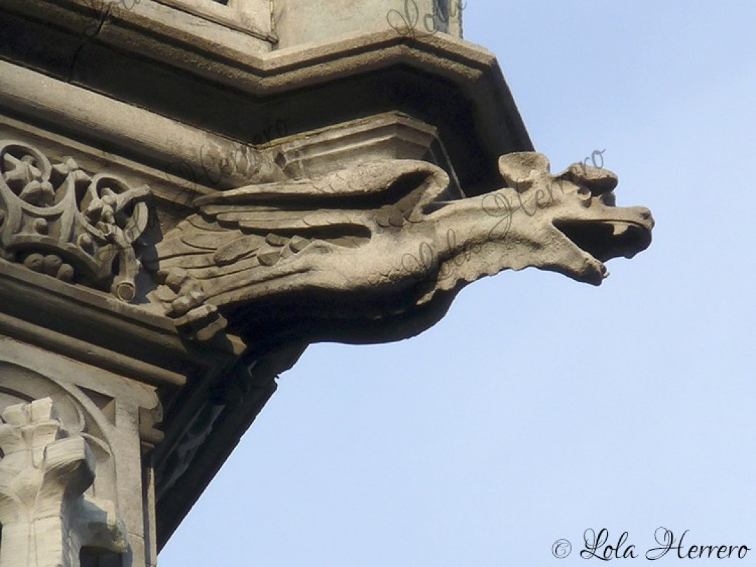 Gárgola La Maison du Roi, Bruselas (Bélgica) (354)