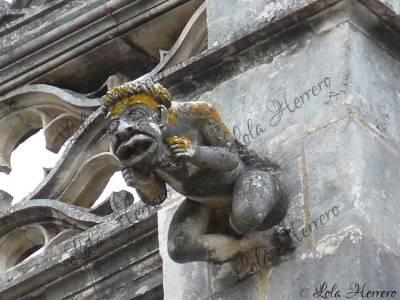 Gárgola del Monasterio de Batalha (Portugal)