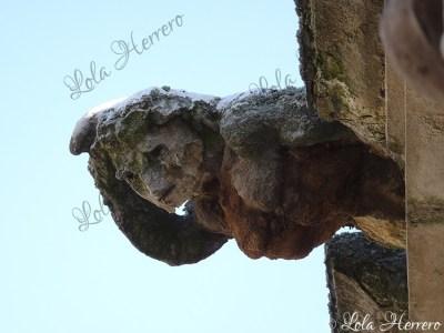 Gárgola del Palacio Monterrey de Salamanca