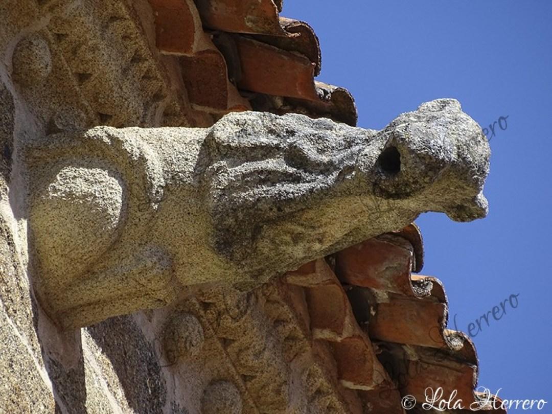 Gárgola Parroquia San Pedro Gata (416)