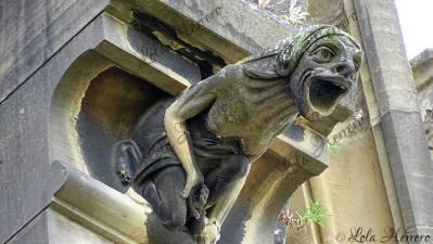 Gárgola de la Catedral María Inmaculada (Vitoria-Gasteiz)