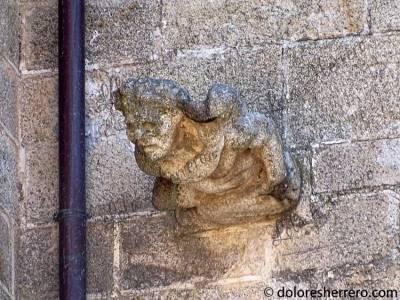 Gárgola de la Catedral de Coria (Cáceres)