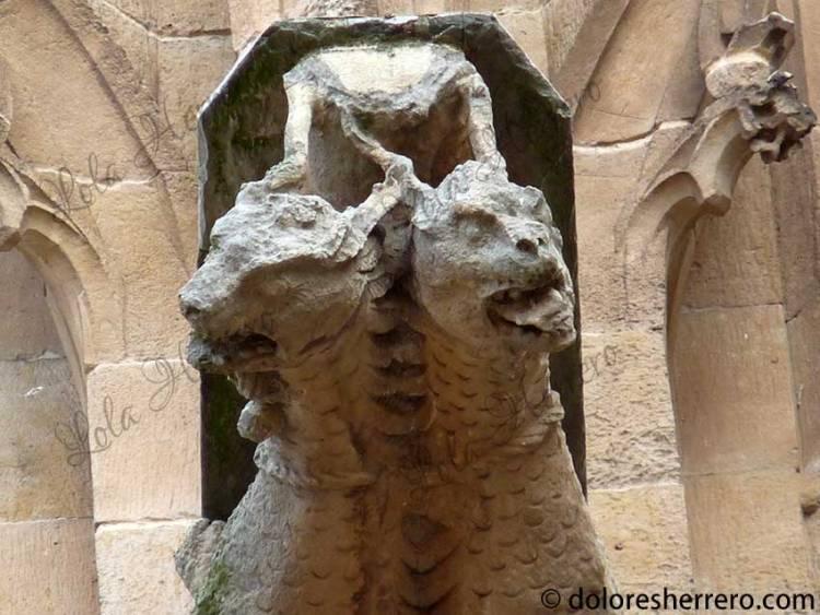 dragón gárgola mitología