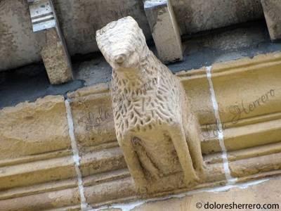 Gárgola de la Parroquia de Nuestra Señora del Juncal en Irún