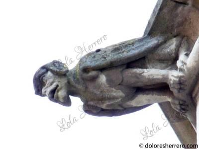 Gárgola del Ayuntamiento de Brujas (Bélgica)