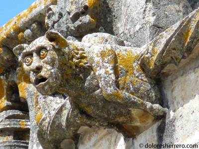 Gárgola del Convento de Cristo en Tomar (Portugal)