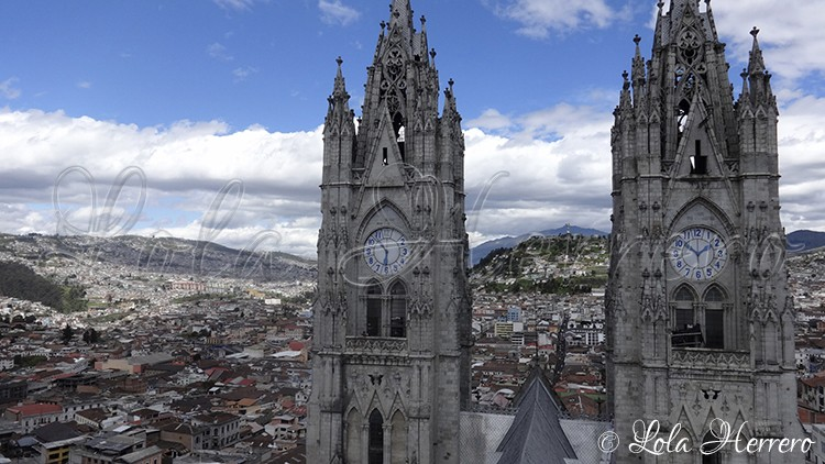 Gargoyles in Quito