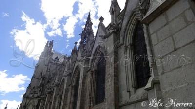 Gárgolas de la Basílica del Sagrado Voto Nacional de Quito (Ecuador)