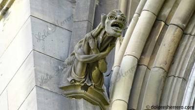 Grotesco de la Catedral de Vitoria-Gasteiz