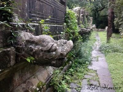 Gárgolas de la Tumba Ming Xiaoling (Nanjing, China)