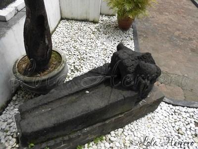 Gárgola del Museo Nacional de Indonesia (Yakarta, Indonesia)
