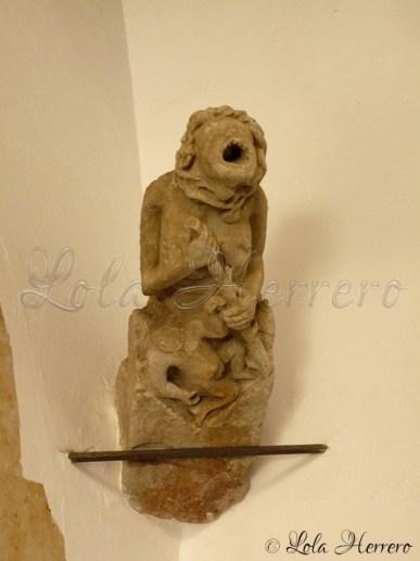 Gárgola del Museo Provincial de Salamanca