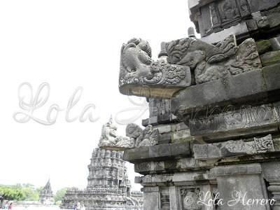 Gárgolas de Prambanan, (Yogyakarta, Indonesia)