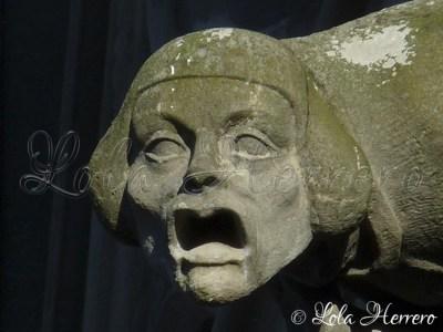 Gárgola de la Basílica de St. Nazaire de Carcassonne (Francia)