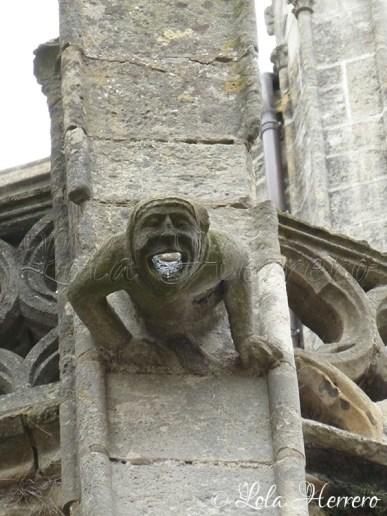 Gárgola de la Catedral de Tours (Francia)