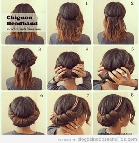peinados para corto pelo