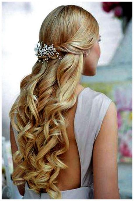 Peinados faciles para boda pelo suelto