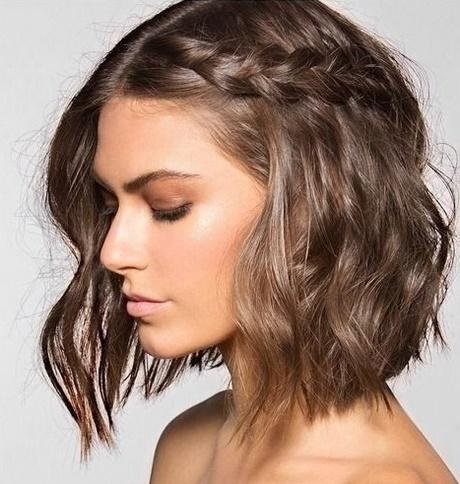 Peinados Semirecogidos Pelo Corto