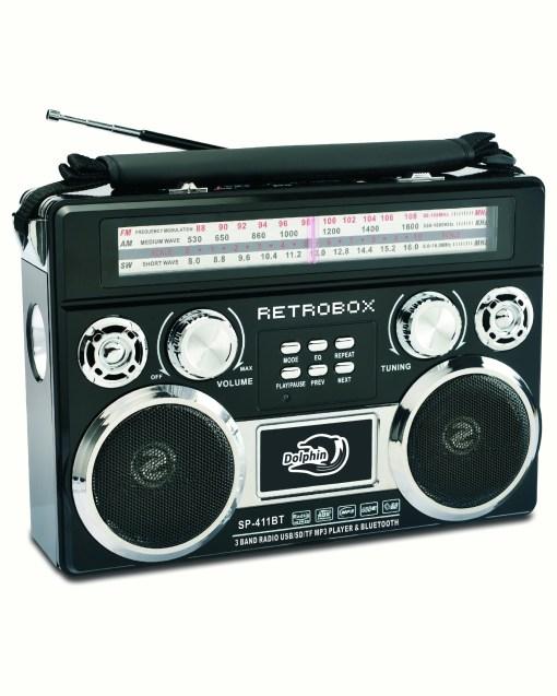 Retobox AM/FM/SW Bluetooth speaker sp-411bt