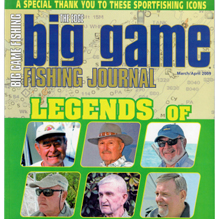 Big Game Fishing Journal