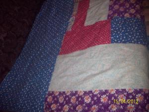 одеяло на синтепоне- другая сторона