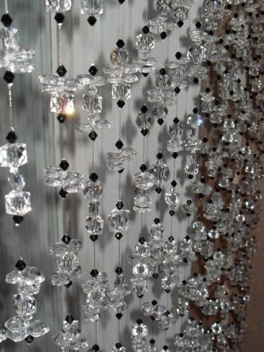 Шторы из стеклянных бус