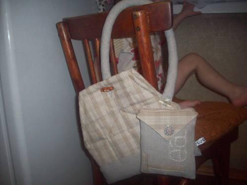 Сумка на стуле