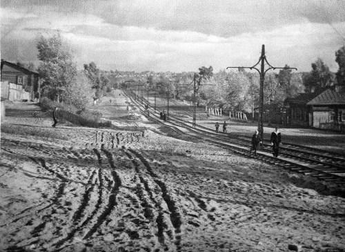 ПРОСПЕКТ КРАСНОАРМЕЙСКИЙ . КОНЕЦ 1940х, начало 1950х годов.