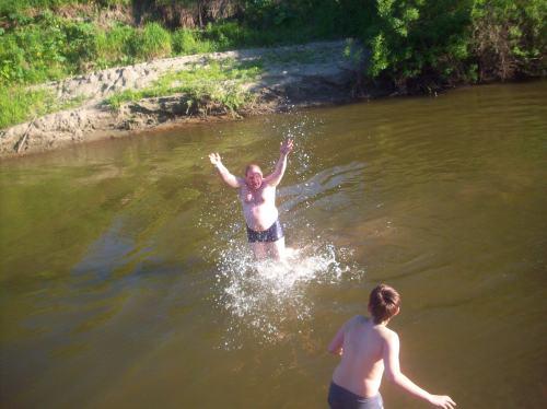 Ура, вода тёплая!