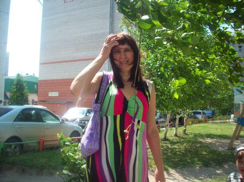 Платье сверху