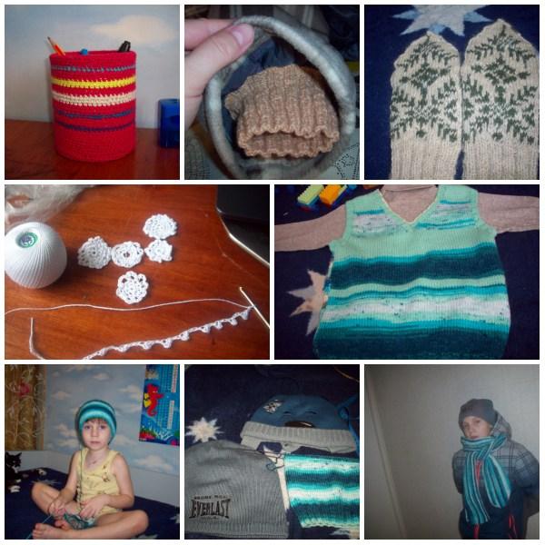 collage вязание 2