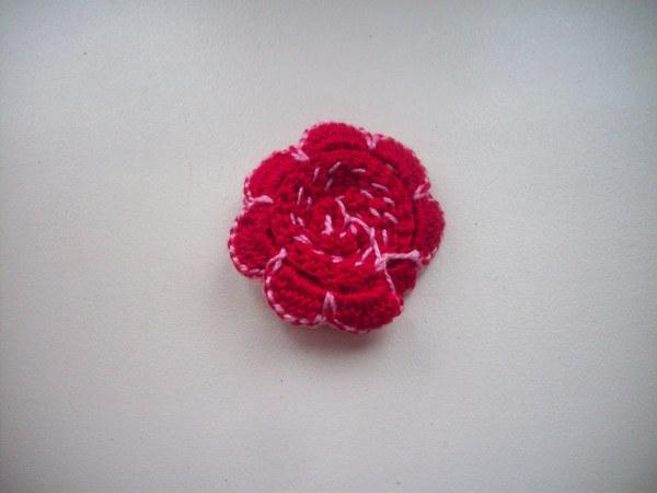 Цветок с обратной стороны
