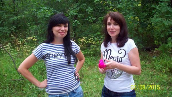 Наташа Овчарова и Юля Витухина