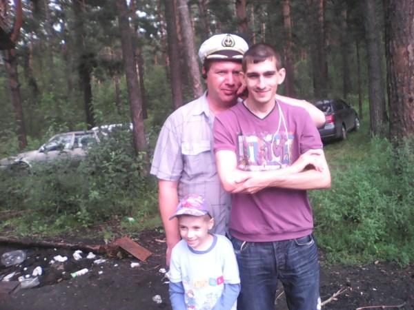 Серёжа, Артём и Егорка
