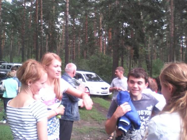 Богдан первый раз на встрече
