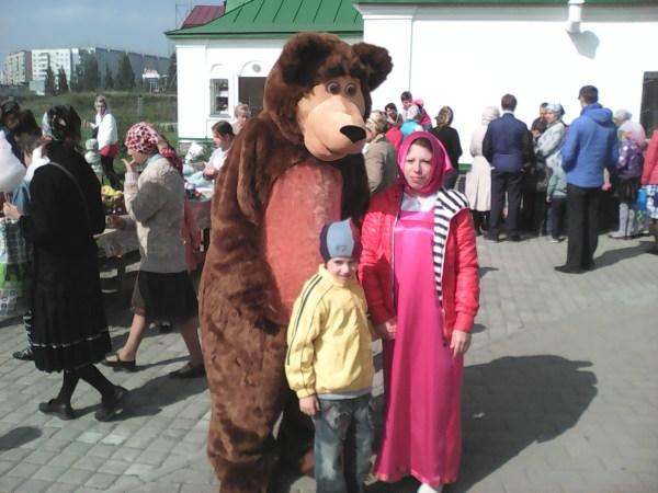 Маша и Медведь и Егорка