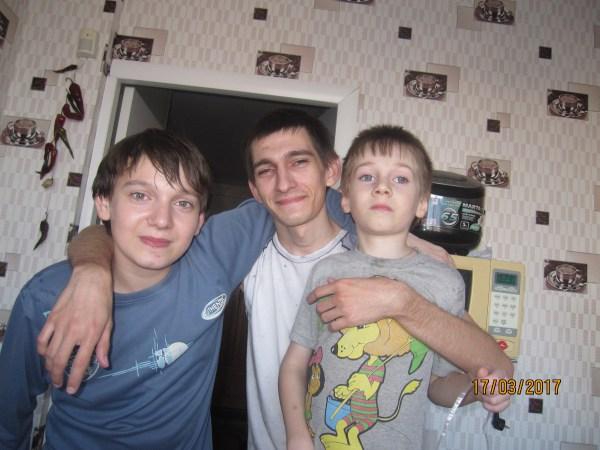 Данил, Артём и Егор
